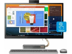 """Lenovo IdeaCentre All in One 5i Desktop, 27"""" IPS QHD (2560 x 1440) Touchscreen Display, Intel Core i5-10400T Processor, 16GB DDR4 RAM, 1TB PCIe SSD, Windows 10 Home, Wireless Keyboard and Mouse"""