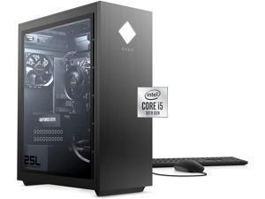 2021 Newest HP Omen Gaming Desktop, Intel Core i5-10400 6-Core Processor, NVIDIA GeForce GTX 1660 Super, 64GB RAM, 2TB SSD + 8TB HDD, HDMI, DisplayPort, DVI, Wi-Fi, Windows 10 Home