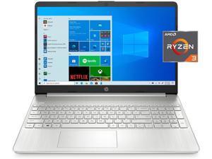 """2021 Newest 15 HP Laptop, 15.6"""" FHD Diagonal Display, AMD Ryzen 3 3250U, 16GB DDR4 RAM, 1TB PCIe NVMe SSD, Webcam, HDMI, USB-C, Wi-Fi, Bluetooth, Numeric Keypad, Windows 10 Home, Silver"""