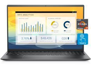 2021 Newest Dell Inspiron 15 Laptop, 15.6 FHD LED-Backlit Touch Display, AMD Ryzen 7 5700U, 32GB DDR4 RAM, 1TGB PCIe SSD, HDMI, Webcam, Backlit Keyboard, WiFi, Bluetooth, FP Reader, Win10 Pro