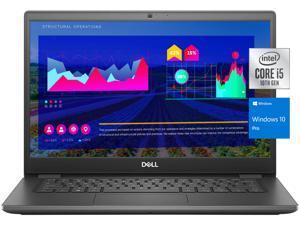 "Dell Latitude 3410 Business Laptop, 14"" FHD Display, Intel Quad-Core i5-10310U, 16GB RAM, 512GB PCIe SSD, HDMI, Webcam, WiFi, Bluetooth, Win 10 Pro"