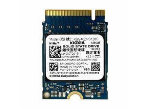 Kioxia Former Toshiba Brand 128GB PCIe NVMe 2230 SSD (KBG40ZNS128G), OEM Package