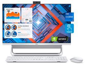 """2021 Dell Inspiron 7700 27 All-in-One Desktop, 27"""" FHD Touchscreen, i7-1165G7, GeForce MX330, 32GB RAM, 1TB SSD, Webcam, WiFi 6, Bluetooth 5, Wireless Keyboard and Mouse, Win 10 Enterprise"""