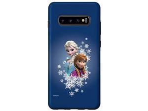 Galaxy S10+ Disney Frozen Anna And Elsa Sisters And Snowflakes Case