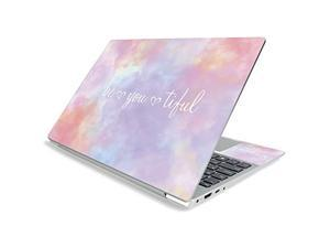 """Mighty Skins Mightyskins Skin For Lenovo Ideapad S340 15"""" (2019) - Beyoutiful   Protective, Durable, And Unique Vinyl Decal Wrap Cover   Easy To Apply, Remove, And Change Styles   Made In The Usa"""