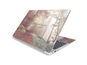 """Mightyskins Skin For Lenovo Ideapad S340 15"""" (2019) - Happens For A Reason   Protective, Durable, And Unique Vinyl Decal Wrap Cover   Easy To Apply, Remove, And Change Styles   Made In The Usa"""