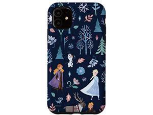 Iphone 11 Disney Frozen 2 Anna Elsa Olaf Kristoff Sven Bruni Print Case