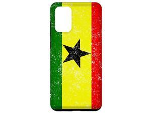 Galaxy S20+ Ghana Flag Ghanaian Pride Travel Gift Case