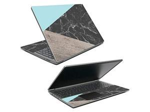 """Mightyskins Skin Compatible With Lenovo Ideapad S145 15"""" (2019) - Wood And Marble   Protective, Durable, And Unique Vinyl Decal Wrap Cover   Easy To Apply, Remove, And Change Styles   Made In The Usa"""