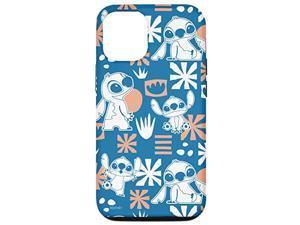 Iphone 12/12 Pro Disney Stitch Cute Hawaii Print Case