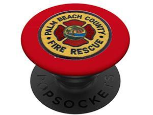 Palm Beach County  Rescue Seal Image Florida Popsockets Popgrip: Swappable Grip For Phones & Tablets