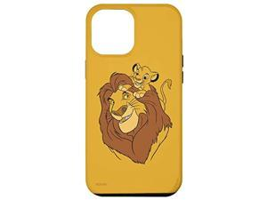 Iphone 12 Pro Max Disney The Lion King Simba And Mufasa Father And Son Case