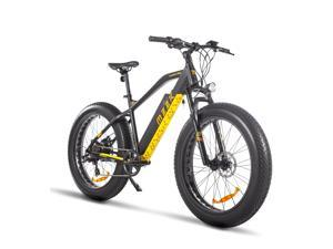 Fat Tire Electric Mountain Bike 750W BAFANG Motor E Bikes LG 48V Lithium Battery Removable Road Dirt Ebike Adults Mens Snow Bicycle 26 Inches Disc Brake UL GCC