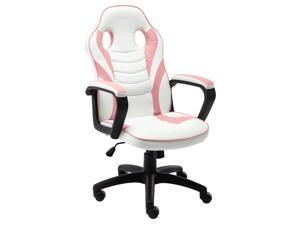 Bonzy Home Computer Gaming Chair Ergonomic Recliner Computer Chair Leather Racing Style Office Chair High-Back E-Sports Game Chair with Lumbar Support Video Game Chairs