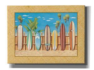 "Epic Graffiti 'Surfboards' by Evelyn Jenkins Drew, Canvas Wall Art, 16""x12"""