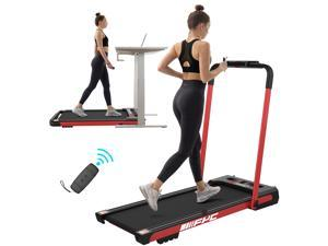 FYC 2 in 1 Folding Treadmill for Home Under Desk Electric Treadmill Workout Foldable Running Machine Portable Compact Treadmill for Running and Walking Exercise 2.5HP, Installation-Free (JK31-8)