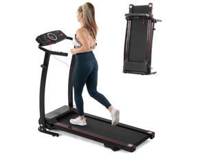 FYC Folding Treadmills for Home -2.25HP Electric Treadmill 265 LBS Weight Capacity, Easy Assemble with Incline/LCD Display, Portable Running Walking Workout for Home Gym Saver Space(JK0805E-3)