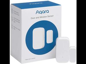 Aqara Door and Window Sensor, REQUIRES AQARA HUB, Zigbee Connection, Wireless Mini Contact Sensor for Alarm System and Smart Home Automation, Compatible with Apple HomeKit, Alexa, Works With IFTTT