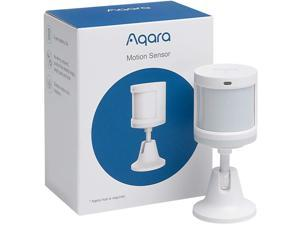 Aqara Motion Sensor, REQUIRES AQARA HUB, Zigbee Connection, for Alarm System and Smart Home Automation, Broad Detection Range, Compatible with Apple HomeKit, Alexa, Works With IFTTT
