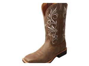 """Twisted X Western Boot Women 11"""" Top Hand 8.5 B Bomber WTH0012"""