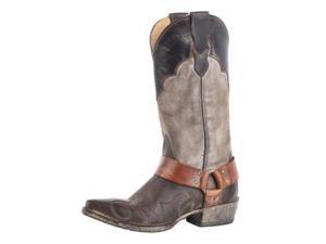 Stetson Western Boots Womens Jade 7.5 B Brown 12-021-6105-1133 BR