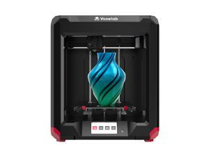 Voxelab 3D Printer Aries with Carborundum Glass Platforme, High Precision Dual Z-axis Rail Extruder, 4.3inch Touch Screen, WiFi Printing and Resume Printing Function, Print Size: 7.87x7.87x7.87inch