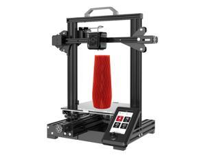 Voxelab Aquila X2 Upgrade 3D Printer Integrated Structure Design with Carborundum Glass Platform and TMC2209 32-bit Silent Mainboard, 8.66x8.66x9.84in Printing Size