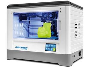 Flashforge Dreamer 3D Printer Dual Extruder Color Print WIFI Touchscreen W/2 Spool Fully Enclosed Chamber 3D Printer