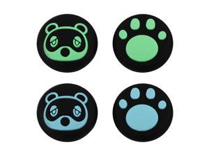 Gifts for Women Men - Kawaii Thumb Grips Caps Cute Accessories for Nintendo Switch Lite, STOGA Silicone Joystick Caps for Animal Crossing Switch, Joystick Cover Gifts for Nintendo Switch Controllers