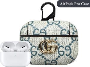 Airpods Case, Airpods Case Cover with Keychain, Silicone 360°Protective AirPods Accessories Kits Shockproof Airpod Case Compatible with Apple Airpods Pro