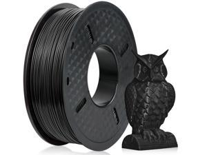 PLA Filament 1.75mm with 3D Build Surface 200mm x 200mm 3D Printer Consumables, 1kg Spool (2.2lbs), Dimensional Accuracy +/- 0.05 mm, Fit Most FDM Printer