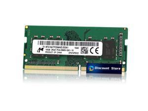 Micron 16GB DDR4-2666MHZ 1RX8 PC4-21300 MTA16ATF2G64HZ-2G3A1 SO-DIMM 260-PIN Laptop Ram Memory