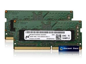 Micron 32GB (16GB x2) DDR4 3200MHZ 1RX8 PC4-25600 MTA8ATF2G64HZ-3G2EZES SO-DIMM 260-PIN Laptop Ram Memory