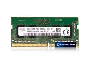 SK Hynix 4GB Memory 1RX16 RAM DDR4 3200 MHz SODIMM PC-25600 for 260-PIN Laptop Memory