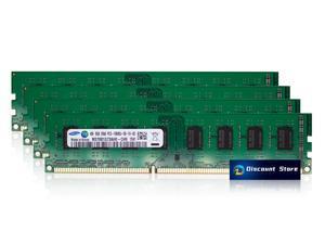 Samsung 32GB(4X8GB) M378B1G73AH0-CH9 PC3-10600U-09-11-A1 2RX8 UDIMM DDR3-1333 Desktop Memory RAM
