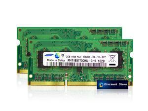 Samsung 4GB(2X2GB) DDR3-10600 Laptop Memory SO-DIMM PC3-1333 MHz 204pin RAM M471B5773CHS-CH9