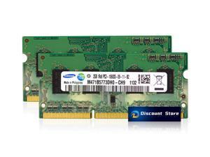 Samsung 4GB(2X2GB) DDR3-10600  SO-DIMM PC3-1333 MHz 204pin RAM M471B5773DH0-CH9 Laptop Memory