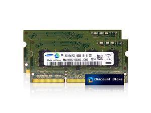 Samsung 4GB(2X2GB) 1RX8 DDR3-10600  SO-DIMM PC3-1333 MHz 204pin RAM M471B5773CHS-CH9 Laptop Memory