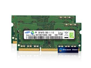 Samsung 4GB(2X2GB) PC3-12800S 1RX8 DDR3-1600 PIN-204 RAM SODIMM Laptop Memory M471B5773DH0-CK0