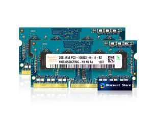 Hynix 4GB(2X2GB) PC3-10600 SO-DIMM 1RX8 DDR3-1333 MHz Laptop Memory HMT325S6CFR8C-H9 Pin-204