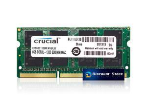 CRUCIAL 8GB CT8G3S1339M.M16FJD DDR3L MEMORY RAM 1333MHz MACBOOK LAPTOP 1.35V CL9 PIN-204
