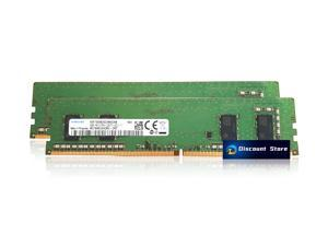 Samsung DDR4 2400MHz UDIMM PC4-19200 1Rx16 8GB (2x4GB) M378A5244CB0-CRC PIN-288 CL17 Desktop Memory