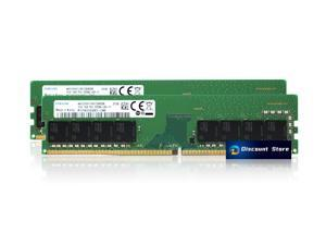 Samsung 32GB(2X16GB) DDR4 1Rx8 UDIMM 3200 MHz PC4-25600 PIN-288 Desktop Memory RAM M378A2G43AB3-CWE