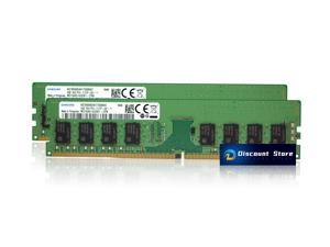 Samsung DDR4 2133MHz UDIMM PC4-17000 1Rx8 8GB (2x4GB) M378A5143EB1-CPB PIN-288 CL17 Desktop Memory