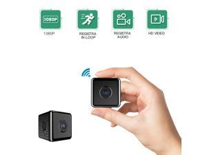 Mini Wireless Camera Real 1080P Wifi Camera Home Nanny Tiny Cam Baby with Night Vision Motion Cell Phone App Detection