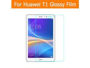 """Clear Glossy screen protector film For huawei  honor tablet T1-823L 8.0"""" tablet front HD film Lcd panel + clean tools"""
