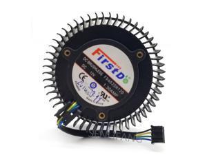 Se FD6525H12D 65mm 12V 1.3A 4 Pin de la tarjeta de vídeo ventilador para AMD Radeon R9 270 270X ventilador de enfriamiento de la tarjeta gráfica