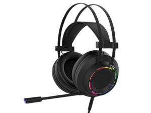 Wired Headset Computer E-Sports Game 7.1 Channel Eating Chicken Listening Argument Overweight Bass with Mic