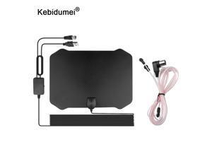 Digital HDTV Antena de TV interior 4K 1080P amplificador de señal para TV Radius Surf Fox Antena 60-130 millas HD TV antenas aéreas
