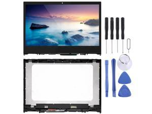 1366 x 768 HD LCD Screen and Digitizer Full Assembly with Frame for Lenovo IdeaPad Flex 5-14 5-1470 5-1480 Mobile phone repair parts